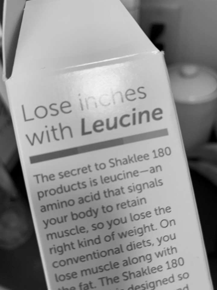 Leucine you say?