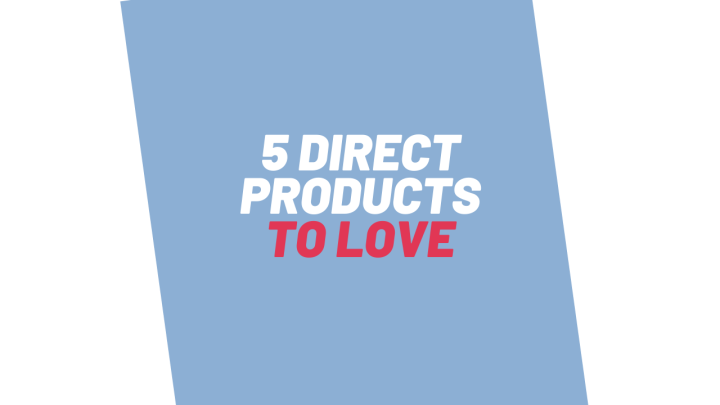 5 direct to market products I amLOVING
